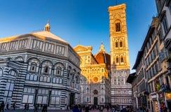 Duomo in Florece, Italien Stockbilder