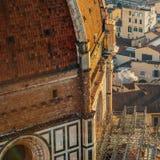 duomo florence Италия изумительн del базилики детализировало наземный ориентир maria florence fiore di экстерьера известный больш стоковые фотографии rf