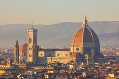 duomo florence Италия собора стоковое фото