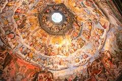 duomo florence куполка brunelleschi стоковые изображения