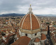Duomo of Florence. Beautiluf church of Florence Italy stock images