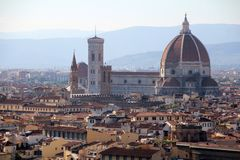 The Duomo in Florence Royalty Free Stock Photo