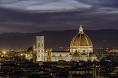 Duomo in Florence Stock Afbeeldingen