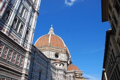 Duomo at florence royalty free stock photo