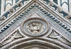 Duomo of Florence. Detail Stock Photography