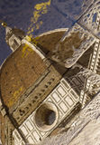 Duomo of Florence. Detail Stock Photo