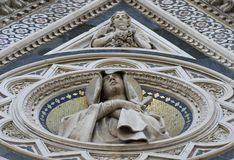 Duomo of Florence. Detail Royalty Free Stock Photography