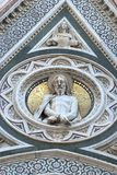Duomo of Florence. Detail Stock Images