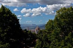 Duomo Florence, Firenze, Toscany, Italie de copule Photographie stock libre de droits