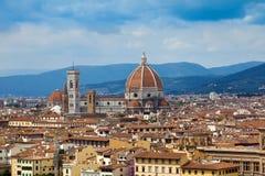 Duomo, Florence, Italië stock foto's