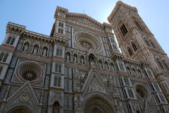 Duomo in Florence, Italië Stock Foto