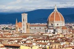 Duomo- Florence, Italië stock afbeeldingen
