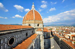 duomo florence italy Arkivfoto