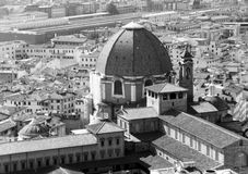 Duomo in Florence Italy. The Duomo in Florence Italy.  Cathedral Santa Maria Del Fiore by Brunelleschi Stock Photos
