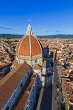 Duomo in Florence - Italy. Architecture background royalty free stock image