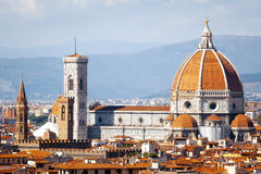 Duomo in Florence Italy Stock Photos