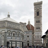 Duomo in Florence, Italy. FLORENCE, ITALY: JUNE 22: Controversy erupts over plans to open a fast food restaurant in the Piazza del Duomo in Florence Italy on Stock Images