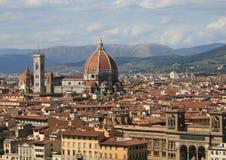 duomo florence italy tuscany Royaltyfri Fotografi