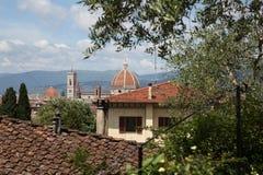 Duomo Florence Tuscany Italy Arkivbild