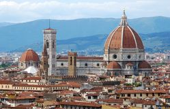 Duomo of Florence Royalty Free Stock Image