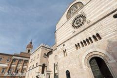 Duomo of Foligno Stock Images