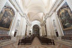 Duomo of Foligno, interior Royalty Free Stock Photography