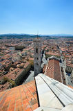 Duomo and Giotto campanila in Florence Stock Photo
