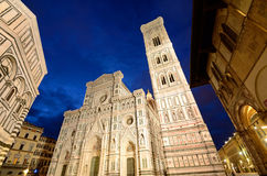 Duomo and Giotto's bell tower Stock Photos