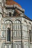 Duomo i Florence, Tuscany Arkivbild