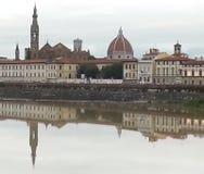 Duomo i Santa Croce kościół w Florencja, Włochy Fotografia Royalty Free