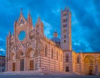 Duomo i Siena Royaltyfri Fotografi