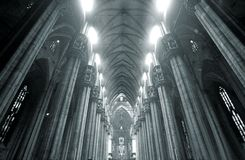 Duomo inside Royalty Free Stock Image