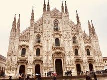 duomo Italie Milan image libre de droits