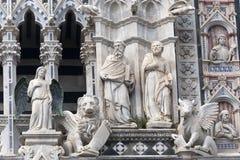duomo italy siena tuscany royaltyfri bild