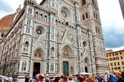 Duomo Katedralny Cattedrale Santa Maria Del Fiore, katedra święty Mary kwiaty, Florencja, Włochy fotografia stock