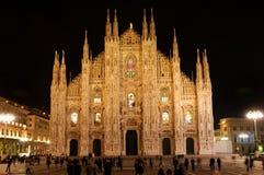 Duomo-Kathedrale in Mailand, Italien stockfotos