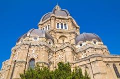 Duomo-Kathedrale von Cerignola. Puglia. Italien. Lizenzfreie Stockfotografie
