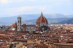 Duomo, Kathedrale von Florenz Lizenzfreie Stockbilder