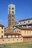 Duomo of Lucca Royalty Free Stock Photos
