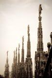 Duomo, Mailand, Italien Lizenzfreies Stockbild