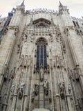 Duomo Mediolański kościół Zdjęcia Royalty Free