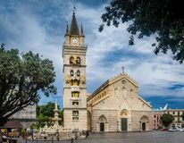 The duomo of Messina Stock Image