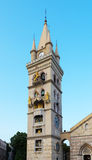 Duomo Messina Sicily Włochy fotografia stock