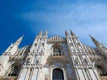 Duomo, Milaan stock fotografie