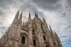 Duomo in Milaan Royalty-vrije Stock Afbeeldingen