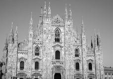 Duomo in Milaan, Italië stock fotografie