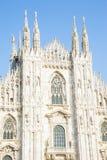 Duomo Milaan Italië Stock Afbeelding