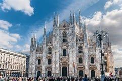 Duomo, Milaan, Italië Royalty-vrije Stock Foto's
