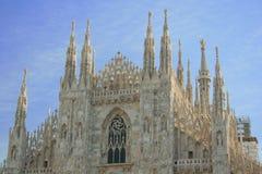 Duomo of Milan. The facade of Duomo Milan Italy stock image