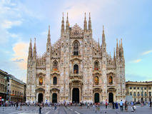 Duomo of Milan Stock Images
